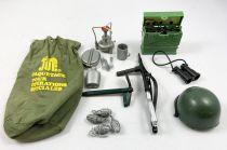 Action Joe (accessoires) - Paquetage Opération Spéciale - Ceji - Réf 7571 (occasion)