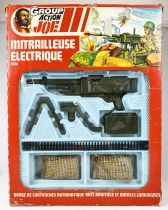 Action Joe (accessories) - Electric Machine-Gun - Ceji - Ref 5601