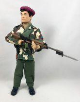 Action Joe (tenue) - Commando Beret-Rouge (tissu) - Ceji - Réf 2991