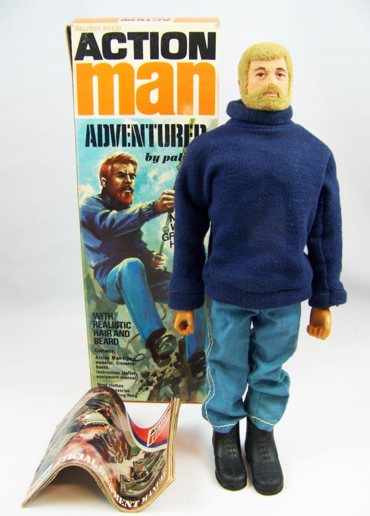Action Man - Adventurer - Palitoy - Réf 34053 04