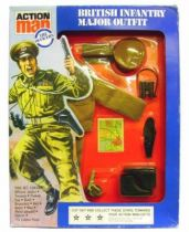 Action Man - British infantry Major - Ref 34351