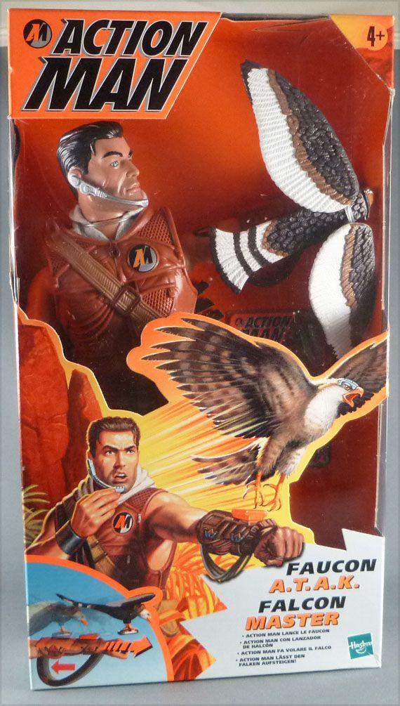Action Man - Hasbro 1999 - Faucon A.T.A.K. Neuf Boite