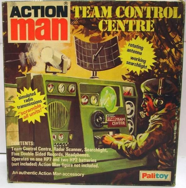 Action Man - Team Control Centre - Ref 34733