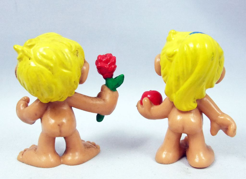 Adam & Eve (Kennedy-Cromo) - Bully 1985 pvc figures