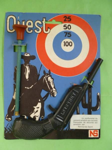 Adherent - Dart Pistol gun (Mint on card)