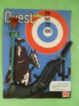 Adhérent - Pistolet tir aux pigeons avec flechette neuve sur carte