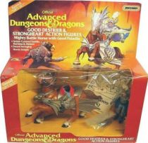 Advanced Dungeons & Dragons - LJN - Strongheart & Good Destrier gift-set (USA box)