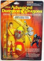 Advanced Dungeons & Dragons - LJN - Young Male Titan (carte Canada)
