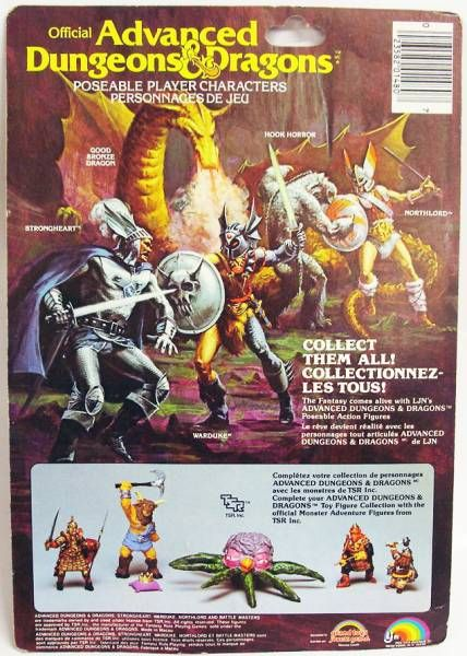 Advanced Dungeons & Dragons - LJN - Young Male Titan (carte Canada)