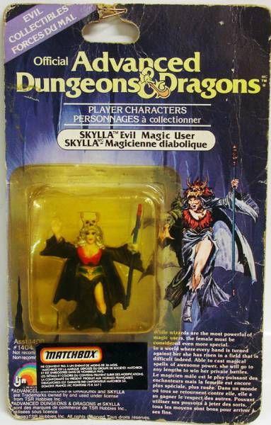 Advanced Dungeons & Dragons - LJN Miniature - Skylla (carte Canada)