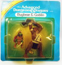 Advanced Dungeons & Dragons - LJN TSR Adventure Figures - Bugbear & Goblin