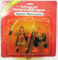 Advanced Dungeons & Dragons - LJN TSR Adventure Figures - Sarken Mercenaries