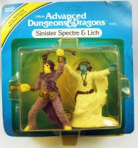 Advanced Dungeons & Dragons - LJN TSR Adventure Figures - Sinister Spectre & Lich