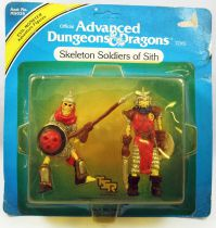 Advanced Dungeons & Dragons - LJN TSR Adventure Figures - Skeleton Soldiers of Sith