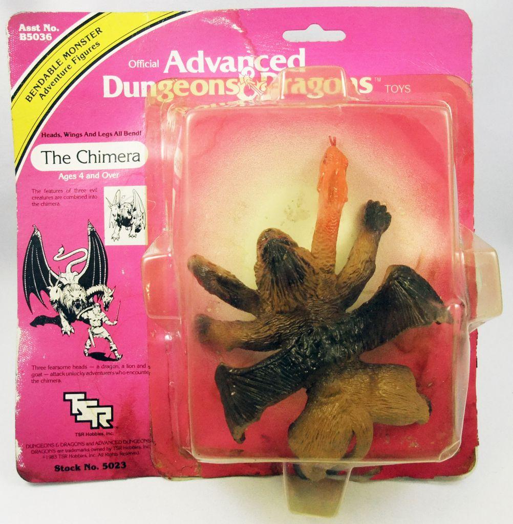 Advanced Dungeons & Dragons - LJN TSR Adventure Figures - The Chimera