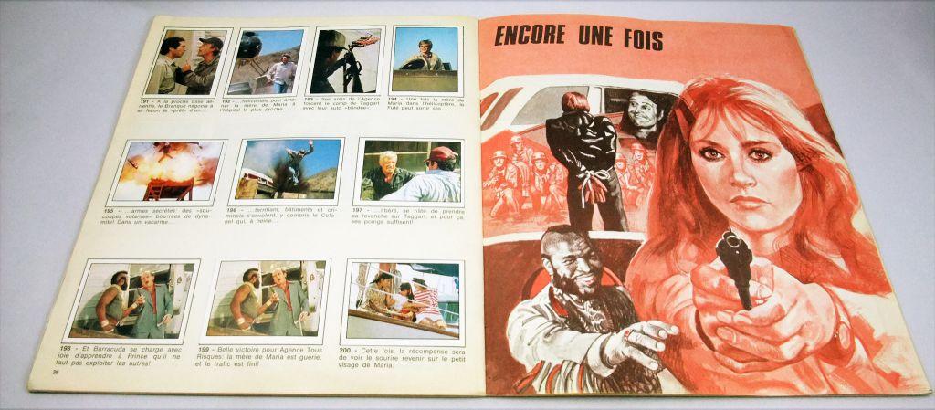 Agence tous risques - Album collecteur de vignettes Panini
