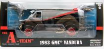 Agence Tous Risques - Greenlight Hollywood - 1983 GMC Vandura (jantes rouges) 1/24ème