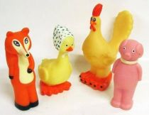 Aglae & Sidonie - set of 4 squeeze toys