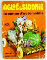 Aglae & Sidonie: The car breakdown - Mini-Comics Gautier-Languereau Editions ORTF 1970