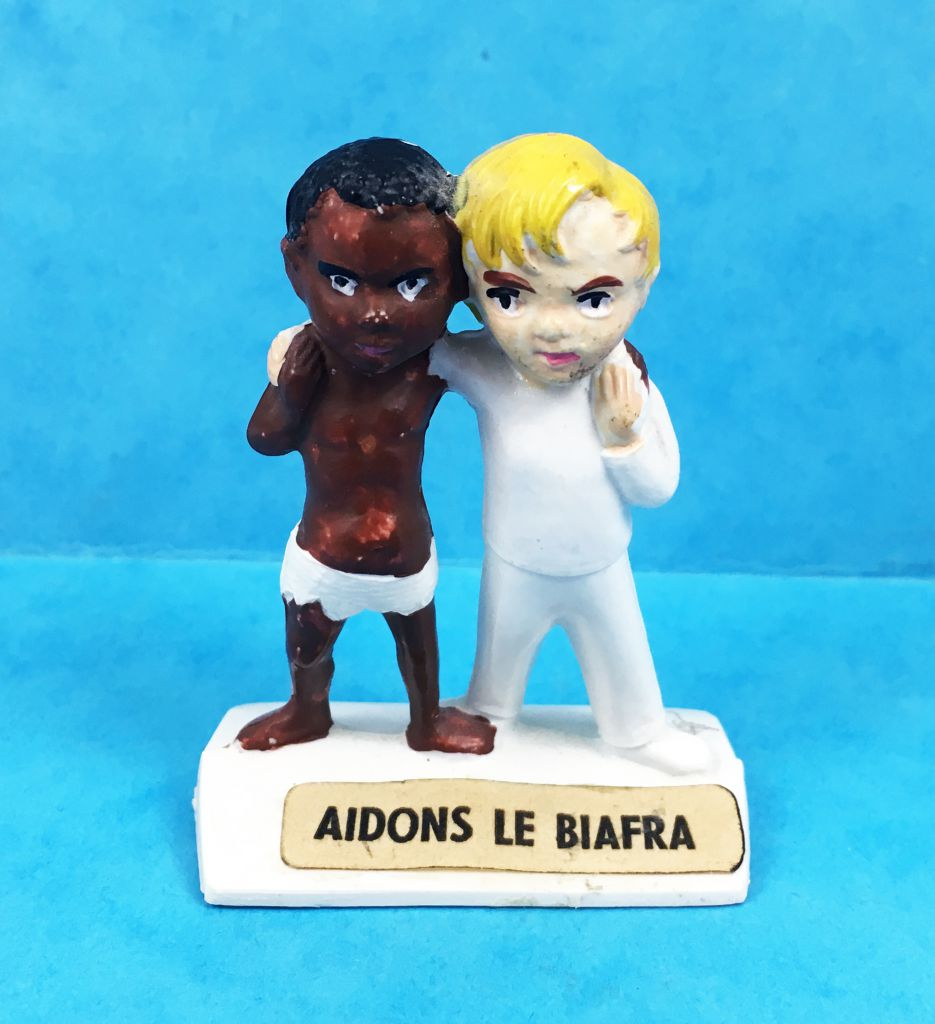 Aidons le Biafra - figurines JIM 1968