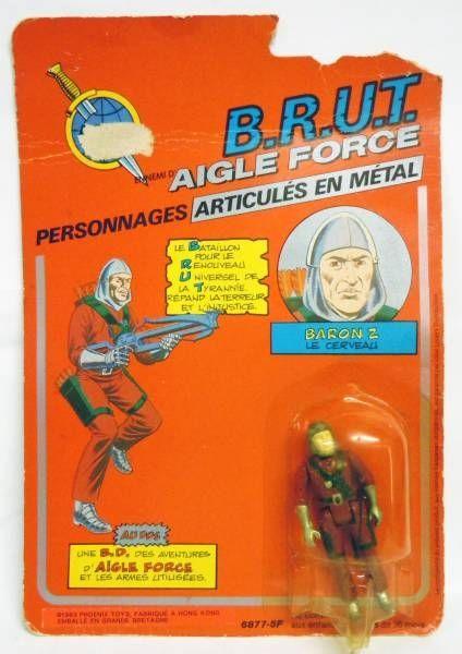 Aigle Force - Baron Z (Le Cerveau du B.R.U.T.) - Mego-Ideal
