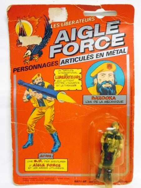 Aigle Force - Bazooka (L\'As de la Mécanique) - Mego-Ideal