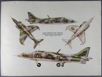 Airfix - N°18001-4 Livret Notice d\'Assemblage du Hawker Harrier GR. Mk. 1a 1/24