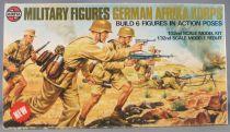 Airfix 03581-3 Multipose Military 6 Figures WW2 German Afrika Korps 1:32 Near Mint in 1975 Box