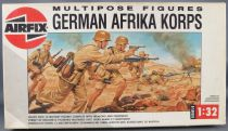 Airfix 04581 Multipose 12 Figures WW2 German Afrika Korps 1:32 with 1988 Box