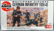 Airfix 04582 Multipose Figures WW2 German Infantry Europe 39-45 12 Figurines 1/32 Boite 1988 1