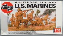 Airfix 04583 Multipose 12 Figures WW2 US Marines Pacific Campaign 1:32 Mint in 1988 Box