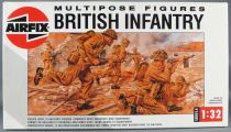 Airfix 04585 Multipose 12 Figures WW2 British Infantry 1:32 with 1988 Box
