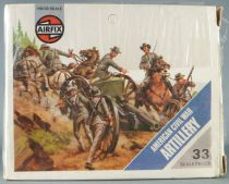 Airfix 1/72 S14 A.C.W. Artillery Confederate & Union Mint in 1975 Type4 Box