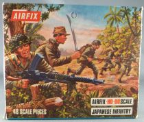 Airfix 1/72 S18 WW2 Japonese Infantry Loose with Type 2 Box