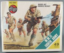 Airfix 1:72 S9 WW2 British 8th Army Mint in 1975 Type4 Sealed Wrapped Box