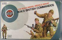 Airfix 51454-1 1/32 WW2 Anglais Commandos Boite couleur 1976