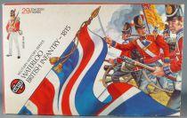 Airfix 51461-9 1/32 Waterloo Anglaisais Infanterie 1815 Proche Neuf Boite 1973