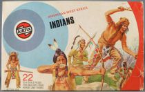 Airfix 51466-4 1/32 Far West Indiens Boite couleur 1974