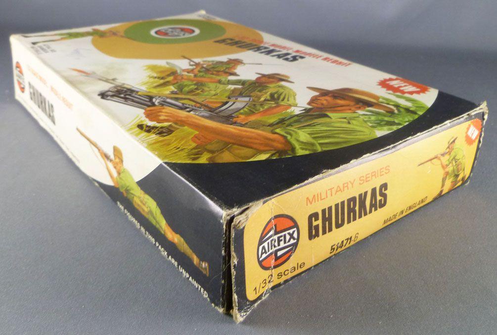 Airfix 51471-6 1:32 WW2 Ghurkas 1976 color box (51471-6)