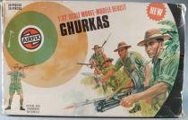Airfix 51471-6 32° 2ème guerre Ghurkas Boite couleur 1976 2