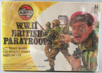 Airfix 51550-8 1:32 WW2 British Paratroopers 1977 14 pieces Mint in Sealed Box