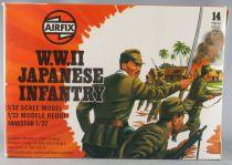 Airfix 51555-3 1/32 WW2 Japonais Infanterie 14 pèces 1977 Neuve Boite