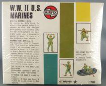 Airfix 72° S16 WW2 Américain Marines Neuf Boite Type4 1975 Cellophanée