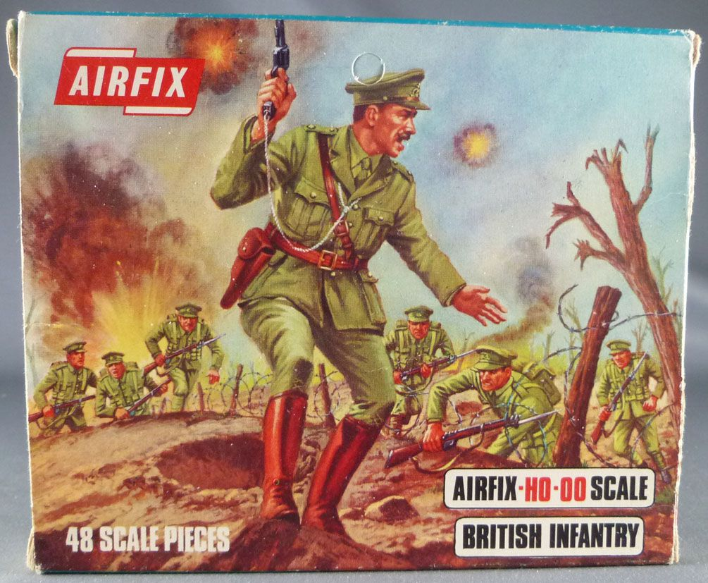 Airfix 72° S27 1ère G.M. Anglais Infanterie Boite Type 2 (Occasion)