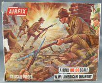 Airfix 72° S29 1ère G.M. Américain Infanterie Boite type 2 (occasion)