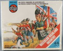 Airfix 72° S35 Waterloo Anglais Highland Infanterie Neuf Boite Type4 1975 Cellophanée
