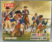 Airfix 72° S39 Guerre d\'Indépendance Américaine Washington\'s Army Boite Type 3 (Occasion)