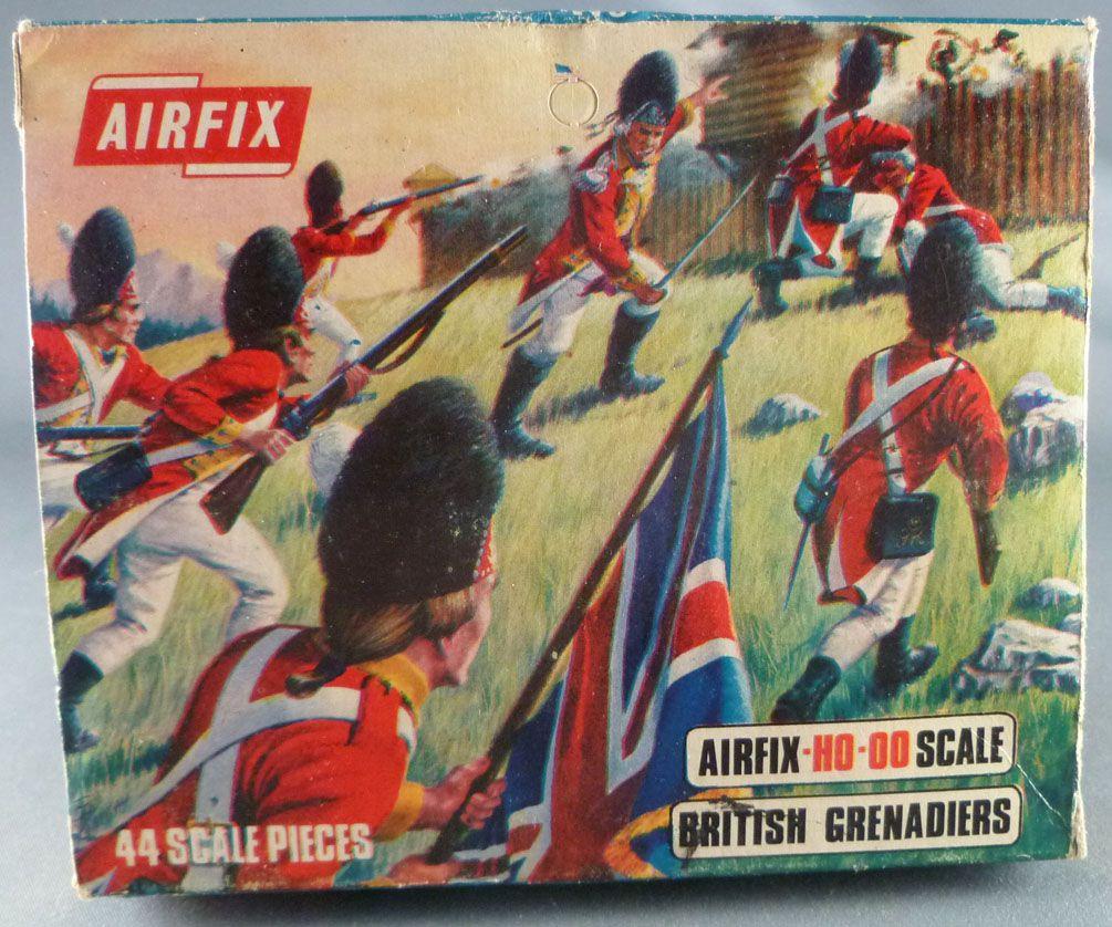 Airfix 72° S40 Guerre d\'indépendance Américaine Grenadier Anglais Boite type 2 (occasion)