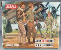 Airfix 72° S48 2ème G.M. Américain Personnels de la U.S.A.A.F. Boite Type 3 (Occasion)