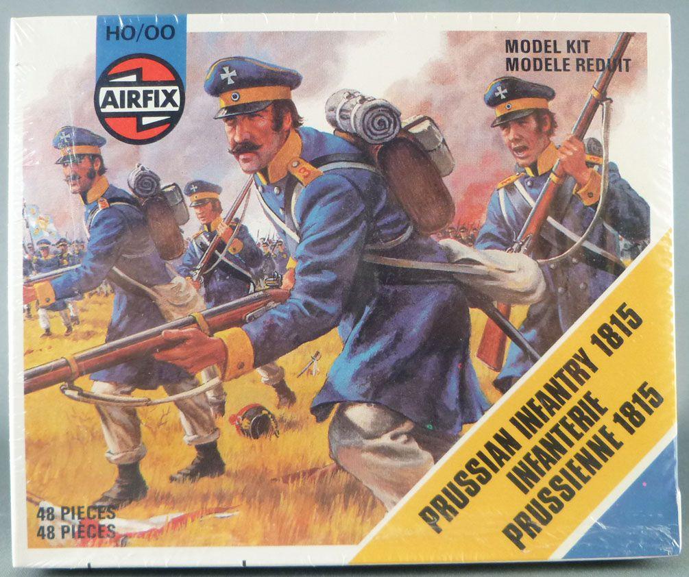 Airfix 72° S56 Waterloo Prussien Infanterie Neuf Boite Type4 1978 Cellophanée